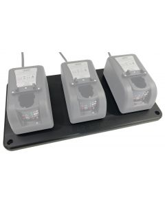 3 Place Mounting Plate (Chargers not included)
