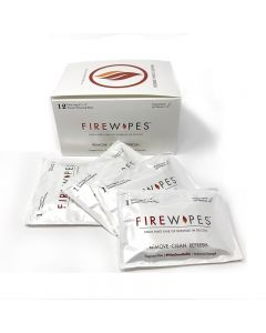 Fire Wipes skin cleaner - Box of 12