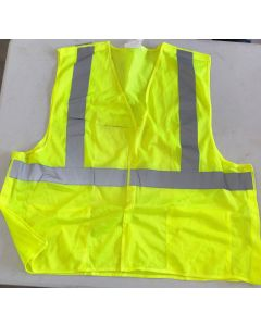 Class 2 Level 2 Lime/Silver - XXL